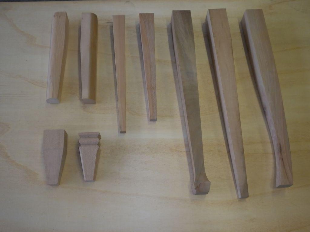 Tavolini Noce : Gambe a spillo commercio legname pregiato verona