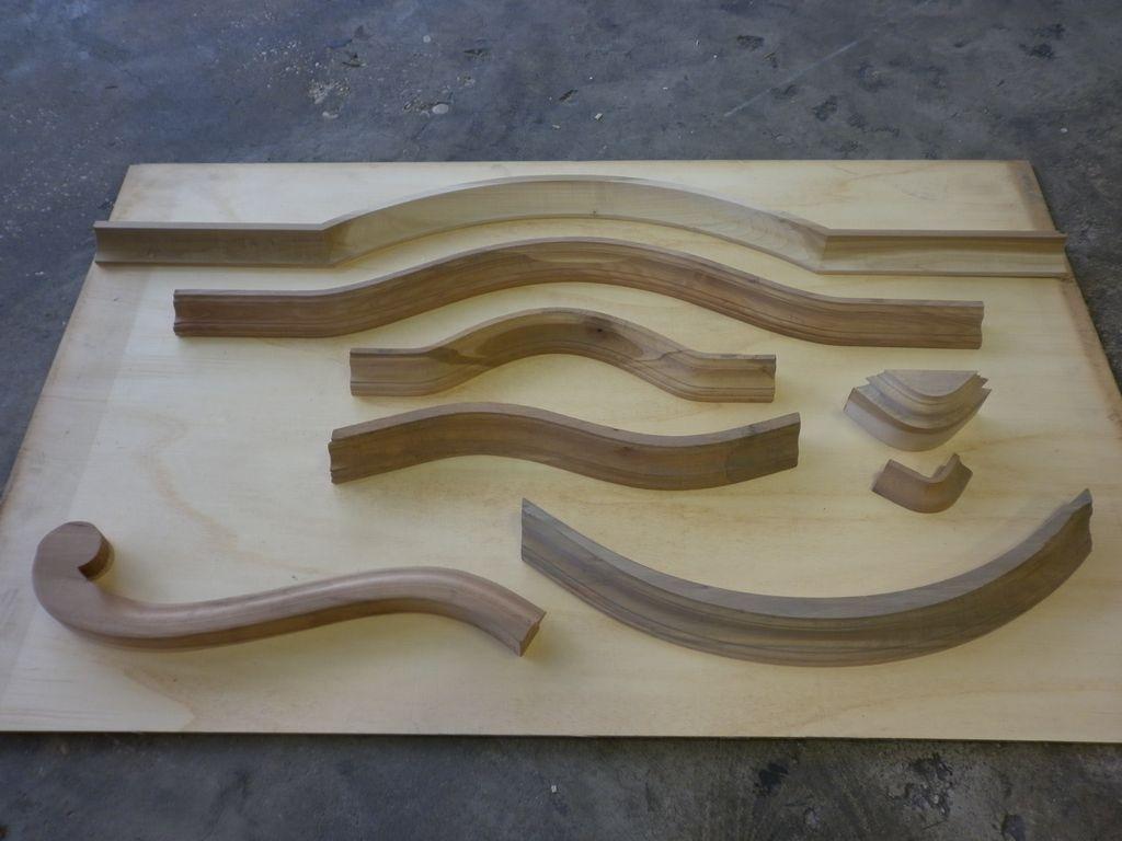 Cornice per cimasa o cappello commercio legname pregiato - Cornici per mobili ...